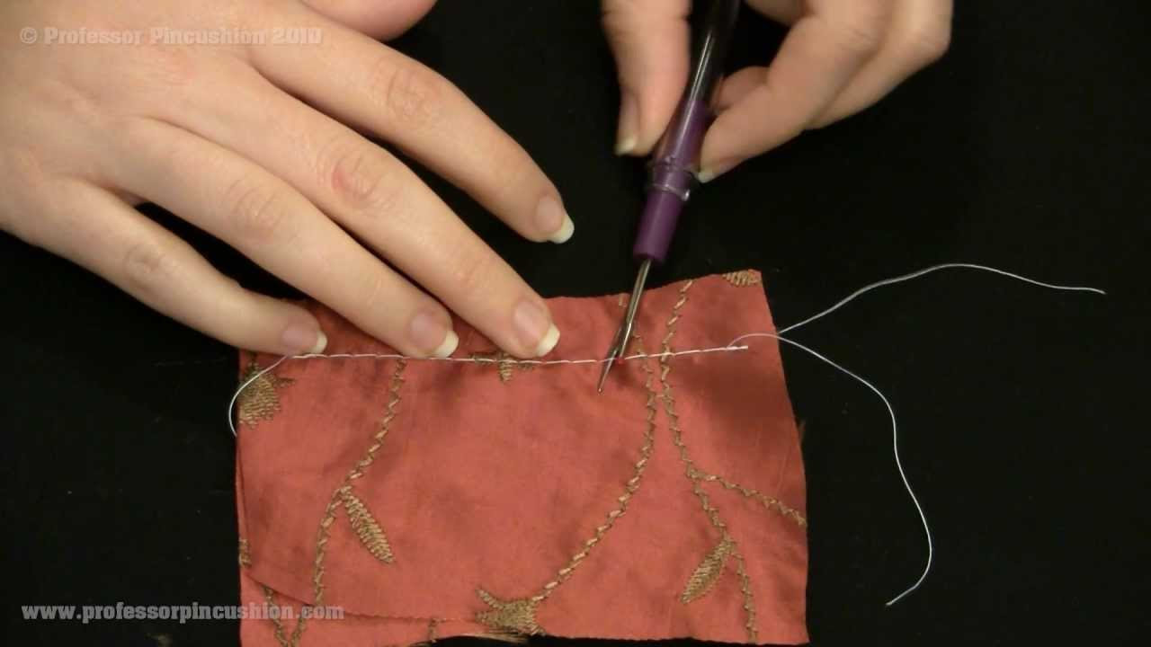 How to Use a Seam Ripper