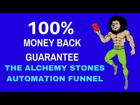 The Alchemy Stones (100% Money Backed Guarantee) Nothing to Lose, and everything to Gain