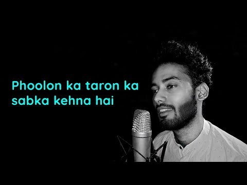 Hindi song phoolon ka taaron lyrics