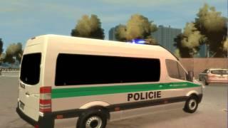 GTA IV Policie Mercedes Benz Sprinter