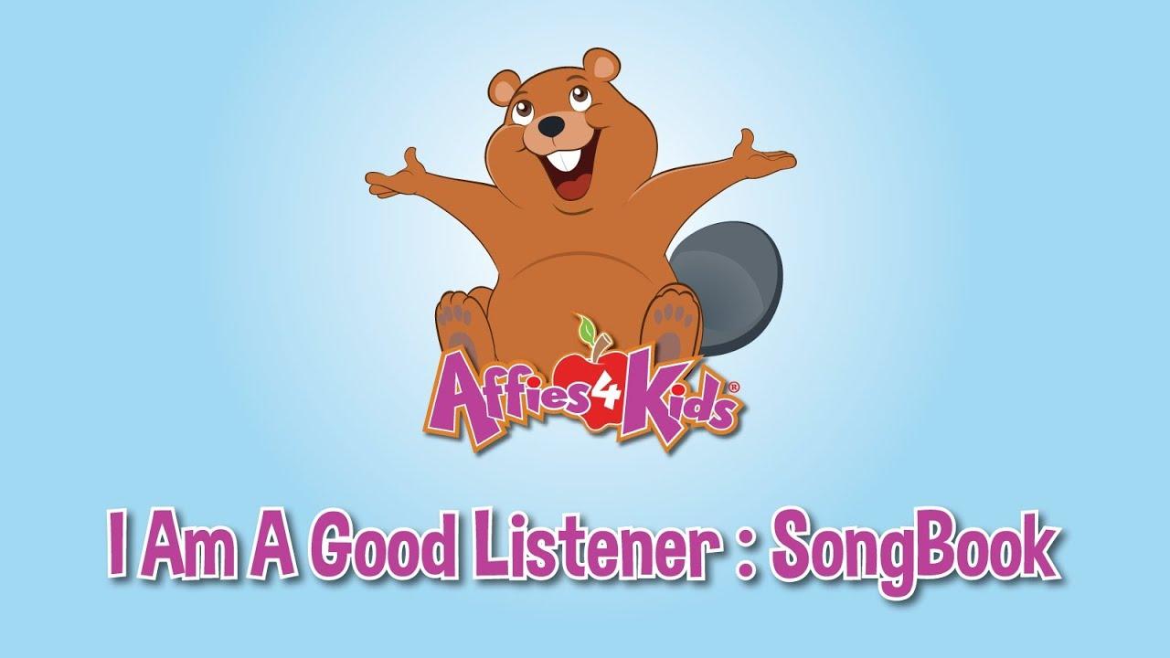 I Am A Good Listener Teaching Children The Importance Of Listening
