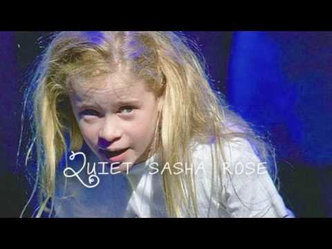 sasha rose-quiet matilda the musical - youtube