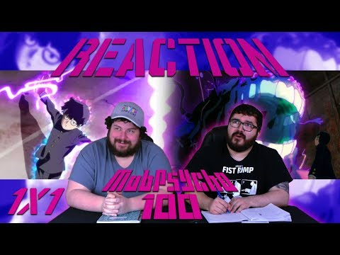 "Mob Psycho 100 1x1 REACTION - ""Self-Proclaimed Psychic: Reigen Arataka -And Mob-"""