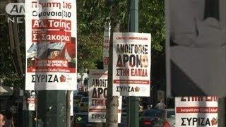 再選挙控えたギリシャ 市民生活も混乱続く(12/06/13)