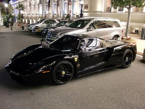 full black ferrari enzo - Ferrari Enzo Black Rims