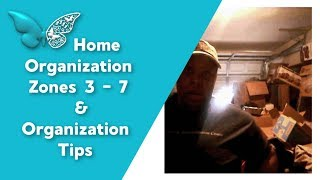 Home Organization | Garage Cleaning | Cleaning in Zone 3 - 7 (time lapse cleaning)