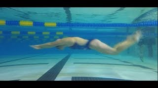 How to Improve Your Underwater Dolphin Kicking with Olympian Chloe Sutton