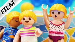 Playmobil Film deutsch | DER FREIBAD KUSS | Hannahs Flirt & was sagt Dave? Kinderfilm Familie Vogel