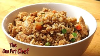 Super Fast Chicken Fried Rice | One Pot Chef
