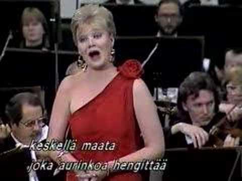 Karita Mattila sings Strauss' Morgen