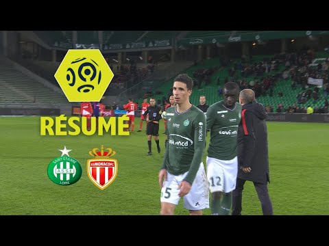AS Saint-Etienne - AS Monaco (0-4)  - Résumé - (ASSE - ASM) / 2017-18