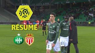 AS Saint-Etienne - AS Monaco (0-4)  - Résumé - (ASSE - ASM) / 2017-18