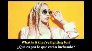 Never Be Yours - Kali Uchis (Lyrics - sub. Español)
