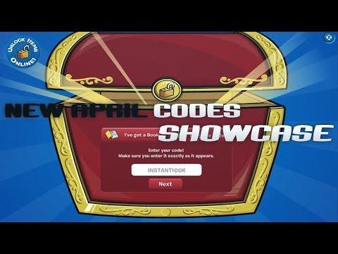 All Codes April 2019 | Showcase | Club Penguin Online