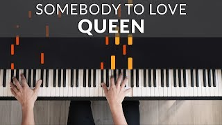 Queen - Somebody To Love | Francesco Parrino Piano Cover Tutorial Video