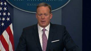 CNN presses Spicer over Trump-CIA appearance