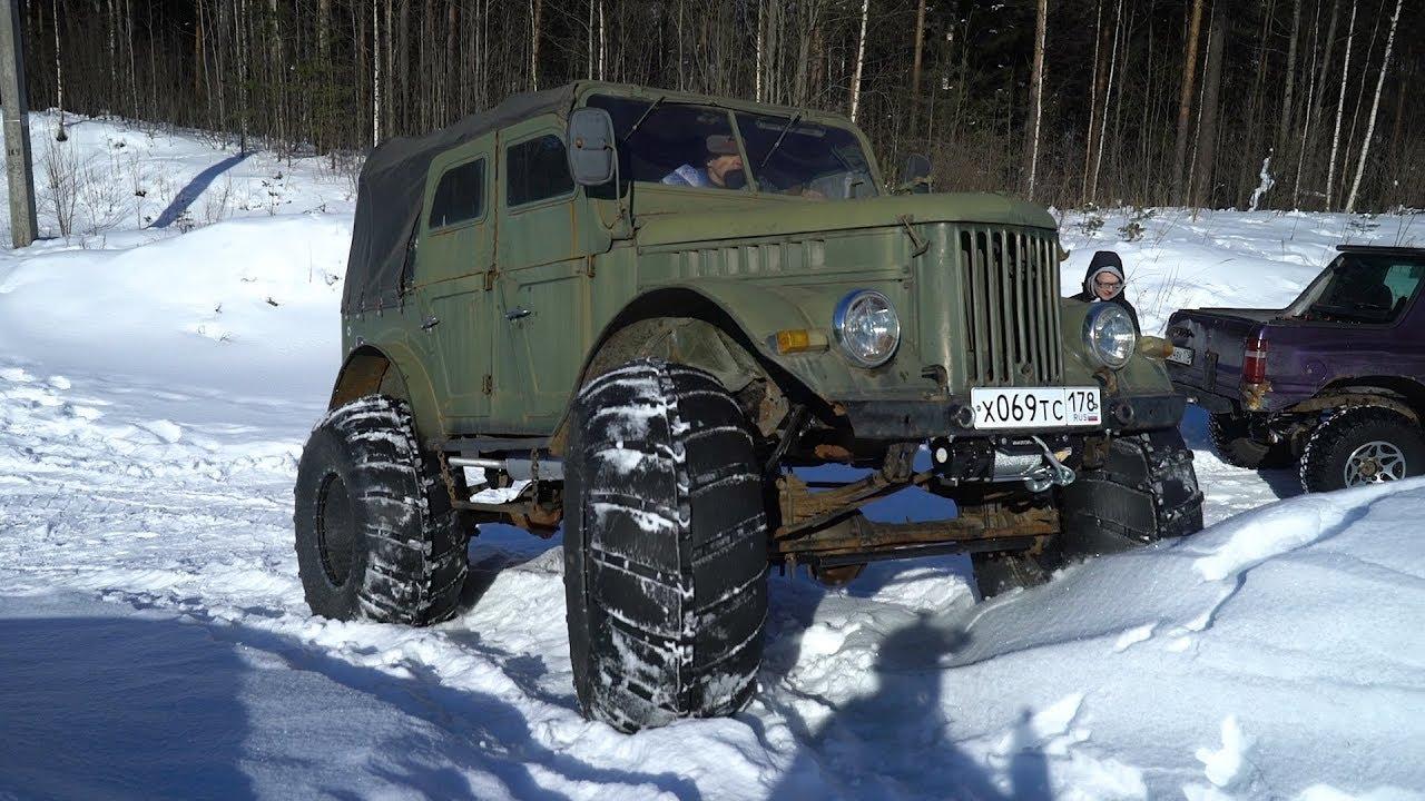Един интересен руски ГАЗ 69, които се справя чудесно даже и с най-трудно достъпните места!