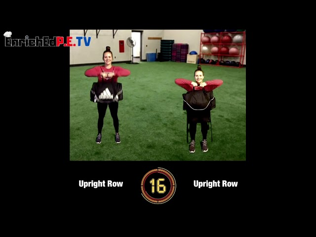 Coach McCoy- A.P.E.: Duffel Bag Workout (SEATED & STANDING) #1