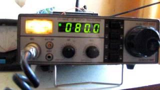 Estrenando una Antena Doble Bazooka: Con Estaciones de Chillan 19.10.2011