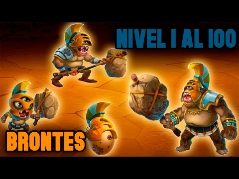 Monster Legends - Brontes (Nivel 1 al 100) + Combate