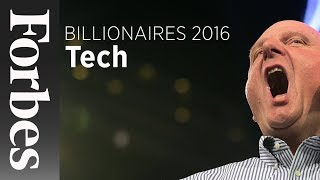 Gambar cover Billionaires: Tech's Top Performers (2016) | Forbes