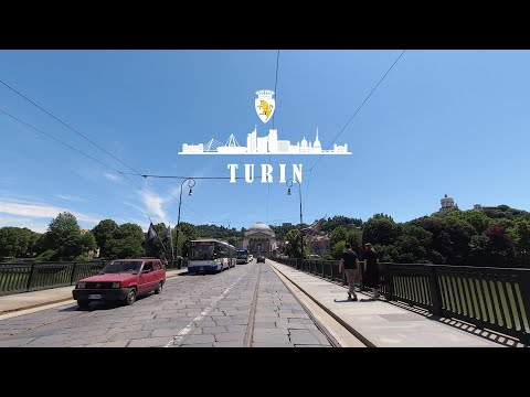 DRIVING DOWNTOWN TURIN 🇮🇹 4K⁶⁰