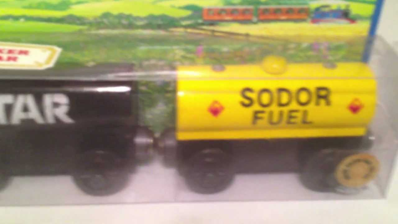 Tar tanker fuel car a thomas the tank engine friends for How to get motor oil out of wood