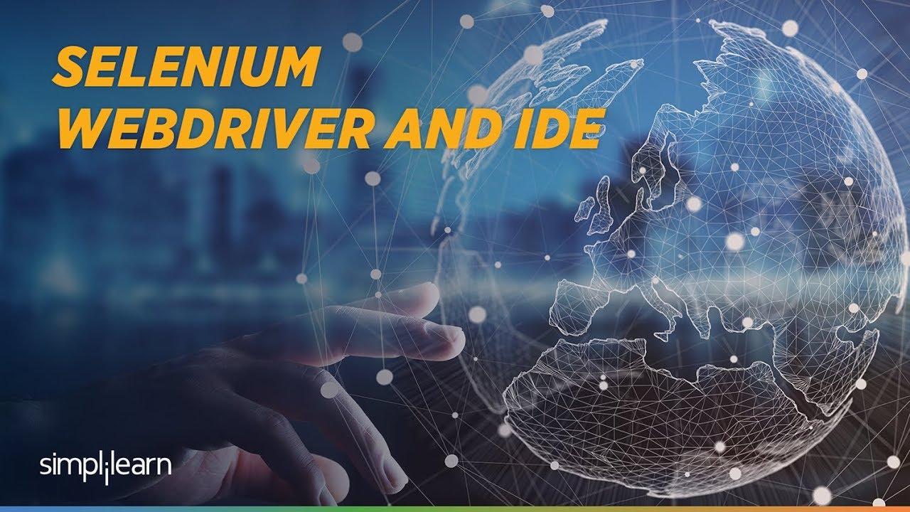 Download Selenium Webdriver Tutorial | Selenium IDE Tutorial For Beginner | Selenium Training | Simplilearn