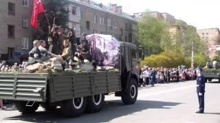 Парад Победы-2015 в Пушкино