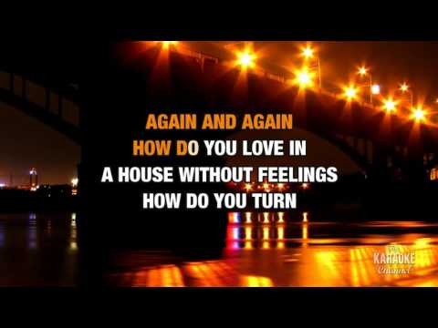 Wire To Wire in the style of Razorlight | Karaoke with Lyrics