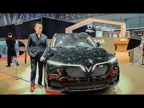 VINFAST ra mắt SUV Nhanh Nhất Thế Giới LUX SA6.2 động cơ V8 300km/h