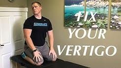 Vertigo Cure (BPPV) Self Treatment Video