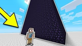 The MOST OBSIDIAN WORLD RECORD!!! (Minecraft BED WARS)