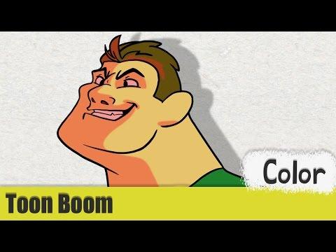 Toon Boom Harmony Tutorial #14 - Color