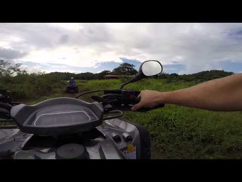 San Juan ATV Adventure Tour of Hacienda Campo Rico Carolina Puerto Rico 2015
