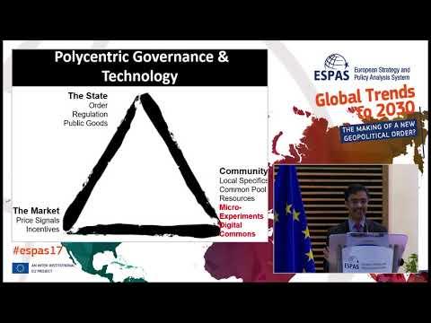 #ESPAS17 - Aaron Maniam: Geopolitics 4.0 - Emerging Challenges; New Actors