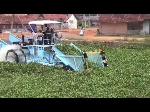 Cleantec Infra : Kerala Backwaters Lake Cleaning with 420 Series Weed Harvester