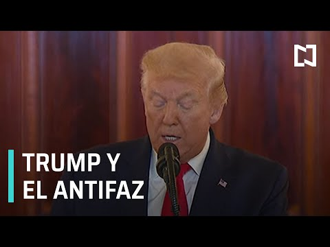 Trump confunde cubrebocas con antifaz, la paparrucha del día - Punto y Contrapunto
