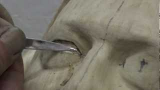 Woodcarving Lessons With Ian Norbury - 06 - The Eye Part 1