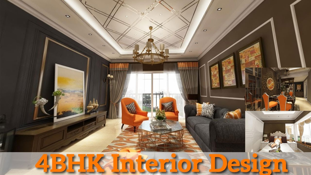 4bhk 2020 Interior Design Luxurious Design And Design Ideas Youtube