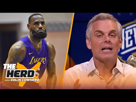 LeBron is playing for immortality, Zion can handle big expectations — Colin Cowherd   NBA   THE HERD