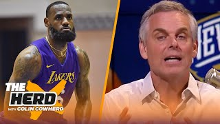 LeBron is playing for immortality, Zion can handle big expectations — Colin Cowherd | NBA | THE HERD