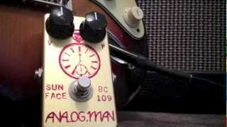 AnalogMan SunFace BC109 review