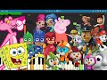 Kids TV Theme Songs on Piano Compilation - Piano Tutorial