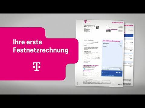 Social Media Post: Telekom: Ihre erste Festnetzrechnung nach einem Tarifwechsel