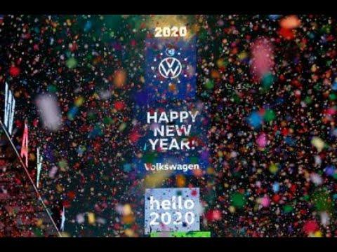The 2020 Ball Drop