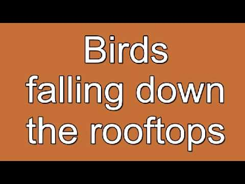 Anouk - Birds (lyrics) Eurovision 2013 The Netherlands