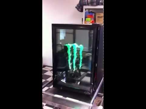 Monster energy mini fridge