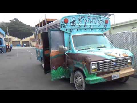 Автосервис в США ; Ремонтируем старый школьный автобус!!!