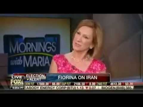 Carly discusses the economy and Iran with Maria Bartiromo